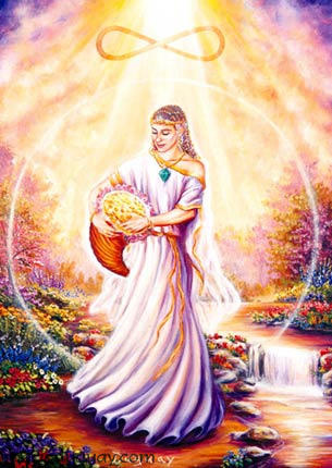 Law of Attraction - Roman Goddess Abundantia